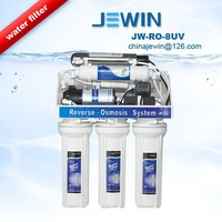 6 stage uv lamp water filter purifier