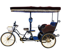 hot sale 3 wheel leisure cheap motorized pedicab bicicletas taxi rickshaw