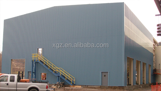 prefabricated workshop /warehouse building construction material