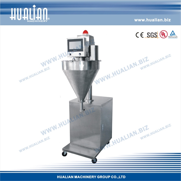 HUALIAN 2015 Screw Blanking Powder Filling Machine For Factory