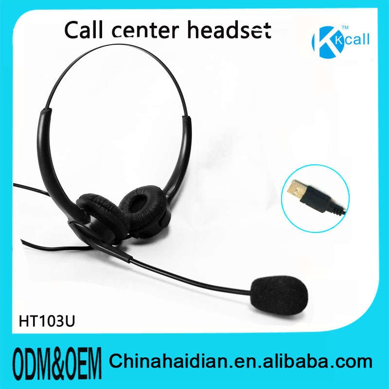 noise reduction call center headset with Mic for yealink&cisco voip telephone