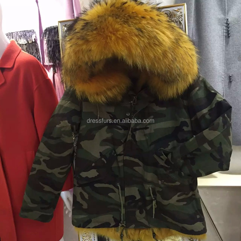 Fox Fur Liend Camo Printed <strong>Military</strong> Authentic New <strong>Style</strong> <strong>Jacket</strong> Men