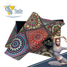 Customize logo Natural Organic Material yoga Bath mats