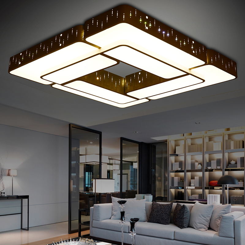 mount ceiling lights living room bedroom modern design kitchen light - Flush Ceiling Lights Living Room
