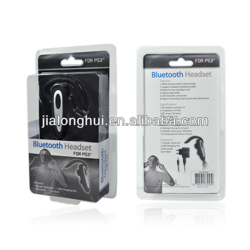 For PS3 wireless bluetooth headset for PS3