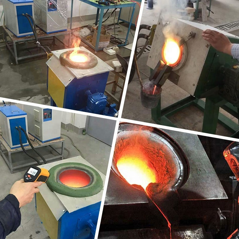 hot sale medium frequency induction melting furnace price