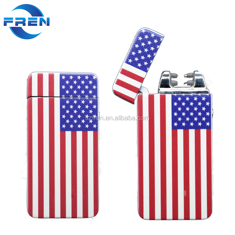 Electric Arc Lighter USB Rechargeable Flameless Lighters with Li-ion Battery 360 Flexible Windproof Best for BBQ Camping Candle