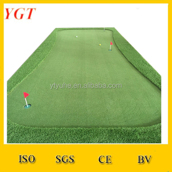Putting Mat/Krul Golf Kunstgras/Mini Putting Green