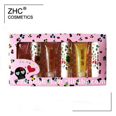 ZH1859 kids makeup kit in colorful paper box