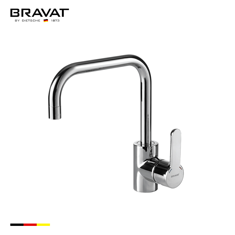 With Spray German Brand Wall Mounted Kitchen Faucet F73783c-1 - Buy Wall  Mounted Kitchen Faucet,German Kitchen Faucets,Wall Mount Kitchen Faucet  With ...