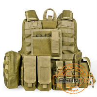 Bullet proof Vest meets NIJ USA standard ISO with molle system