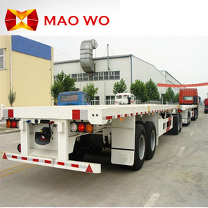 Hot Sale 20ft 40ft container carrier flatbed semi trailer for Africa