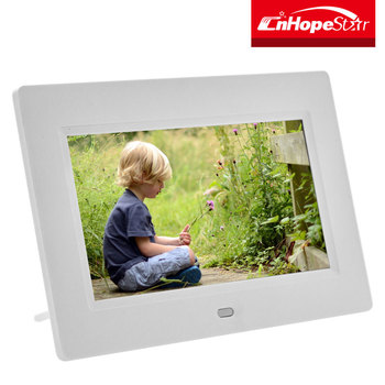 Tft Screen Material Digital Photo Frame 7 Inch With 16 9