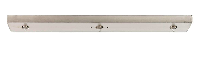 Tech Lighting 700FJL3B-LED ThreePort Linear Freejack Canopy Track