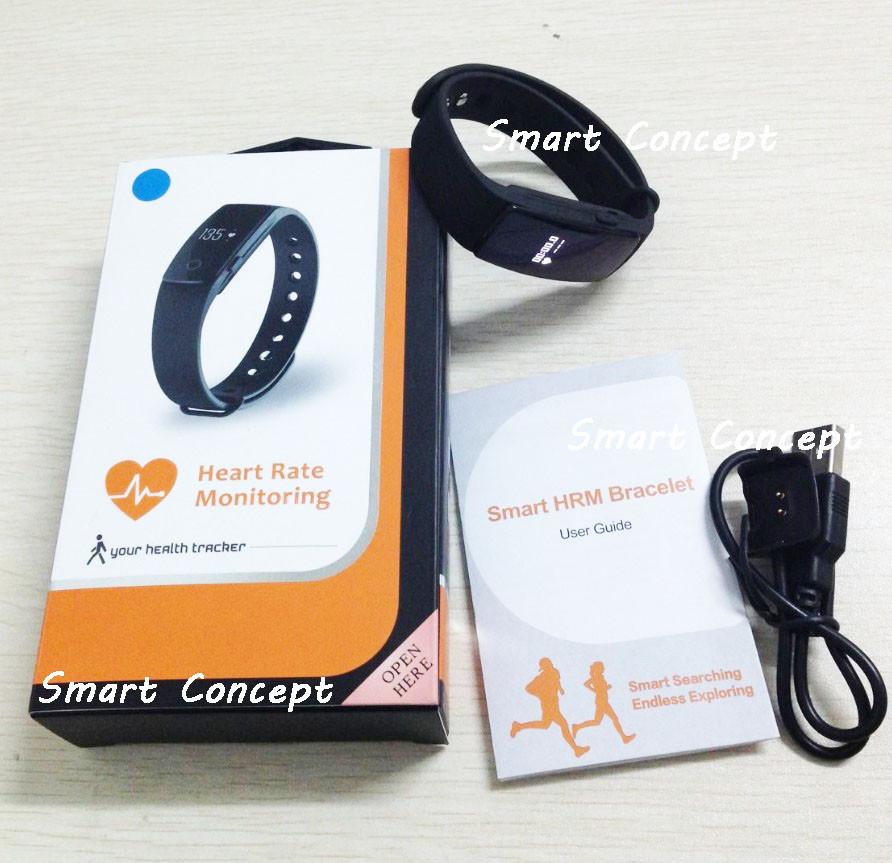 New Fitness Watch Id107 Smart Bracelet Hand Watch Heart Rate Watch