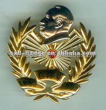 Custom medalha emblema militar com epóxi made in China