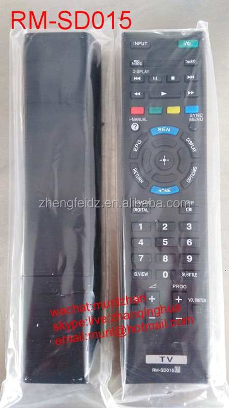 sony av system remote control manual