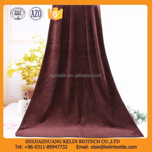 2012 best selling cheap products customized brown microfiber manufactures of bath towel