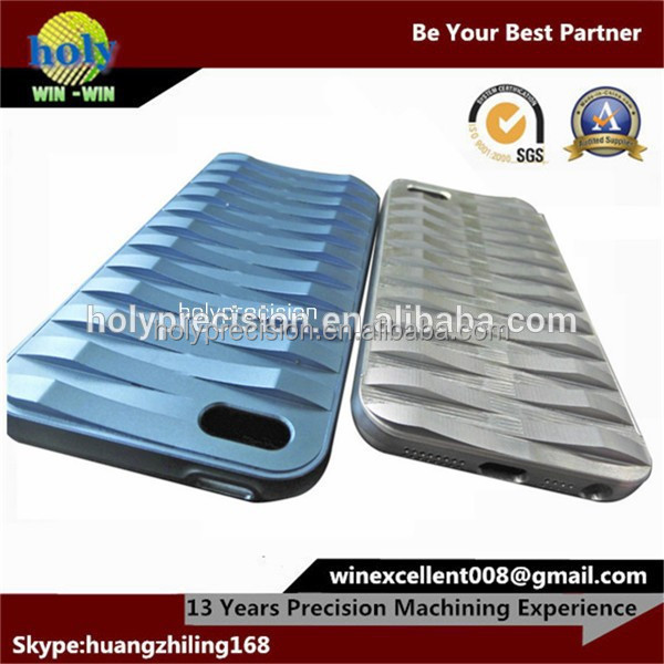 cnc accessories mobile phone shell from aluminum manufacturer
