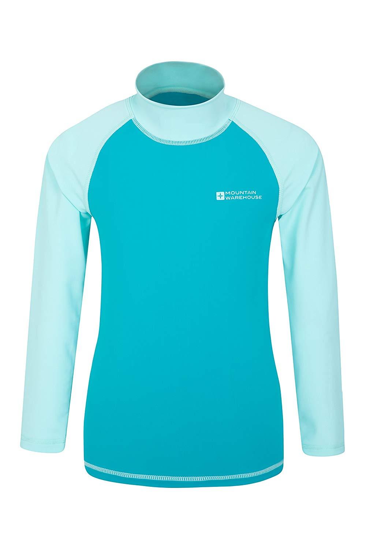 Protection Mountain Warehouse Womens Lightweight Stretch Zip Rash Vest w// UPF50
