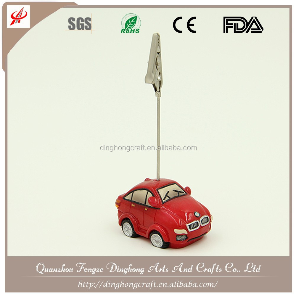Car Design Name Card Holder/Memo Clip Metal Clip