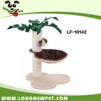 Cat Morden Furniture Scratching Tree Tower With Leaves