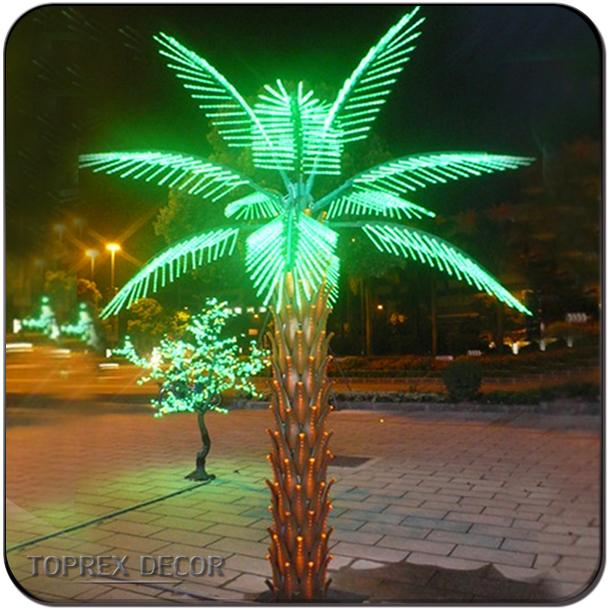 Beach Wedding Decoration Led Artificial Coconut Palm Tree