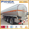 3 axles 45cbm oil tanker trailers/ Tri-Axle fuel tanker truck oil transport truck trailer with volume optional for Angola\ Congo