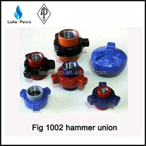 High Quality FMC Weco Fig / Figure 1002 hammer union