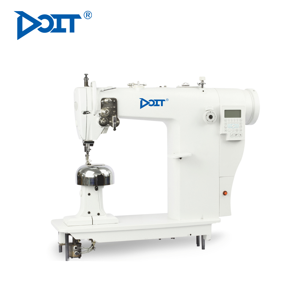 DT8811W Single Needle Computerized Post Bed Industrial Hair Wig Making Sewing Machine With Auto Lubrication