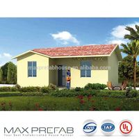 PV56-2 Cheaper Price Earthquake Proof Prefab Metal Garden House