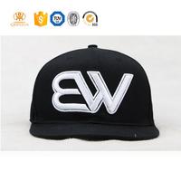 custom embroidery plain cheap snapback hats for man