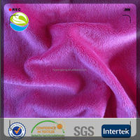 popular high quality pink velvet upholstery fabric for sofa