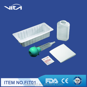 Irrigation Tray with 60cc Bulb Irrigation Syringe (FIT)