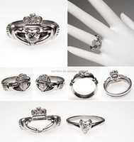 2015 Irish claddagh ring selling from china shenzhen factory