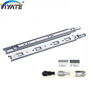 heavy duty ball bearing drawer slide with locking,file cabinet drawer slides