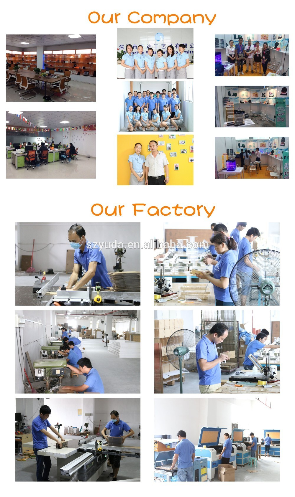 our team our factory