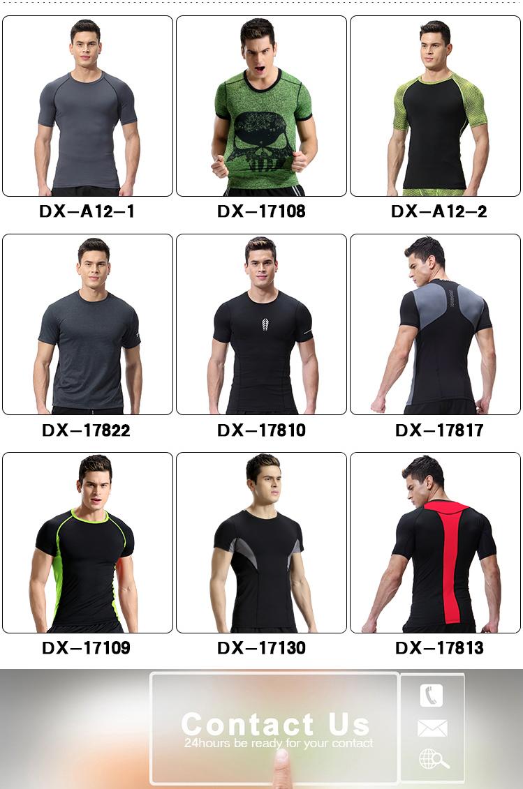 Mode-Design Fitness & Yoga Tragen Männer Quick Dry Gym Kleidung Sets Atmungsaktives Sportswear für Männer