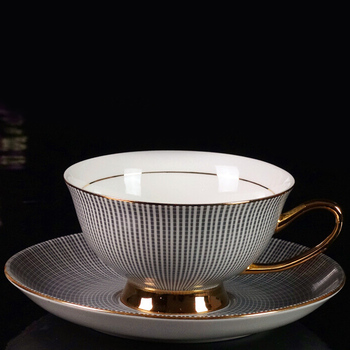 Fine China Porcelain Silver Coffee Set