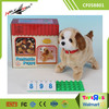 Fantastic Gift for Kids Lovely Flip Brown Dog Battery Operated Puppy Toys