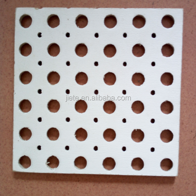 Calcium silicate perforated ceiling board / ceiling sheet / ceiling panel