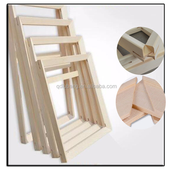 Factory Price Wood Frame For Canvas Oil Painting Nature Wood Diy ...