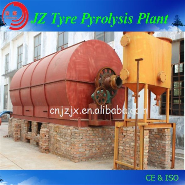 Jinzhen brand new design automatically crude oil distillation equipment convert tires pyrolysis oil to diesel with CE & ISO