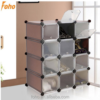 interlocking shoe organiser storage unit rack boxes cubes for 12 rh alibaba com vonhaus 16x interlocking storage shelves