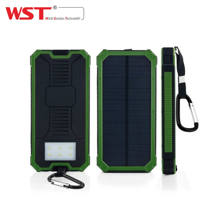 Cheap portable cell phone T5 high quality solar power bank