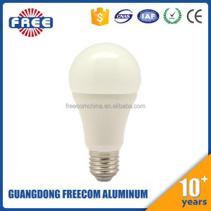 indoor 10w led bulb light plastic cover
