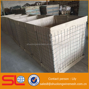 hesco garden system Galfan same as galvanized hesco barrier for military uniforms