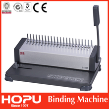Office equipment Plastic comb binding machine