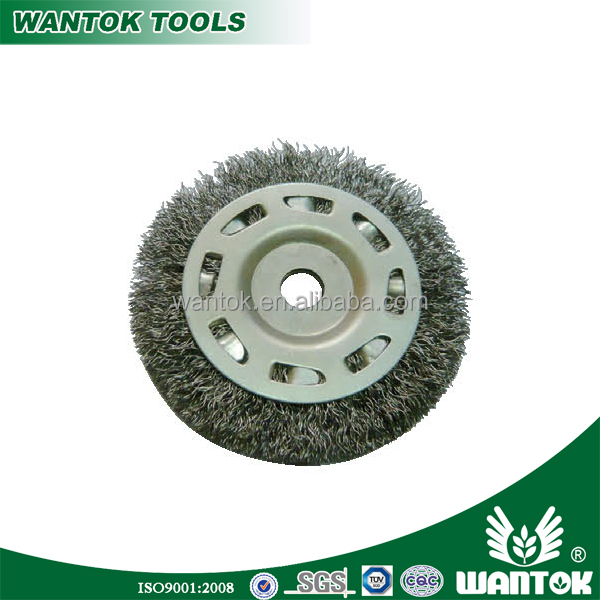 WT0306004 wire wheel brush /stainless steel wire wheel polishing cup brush