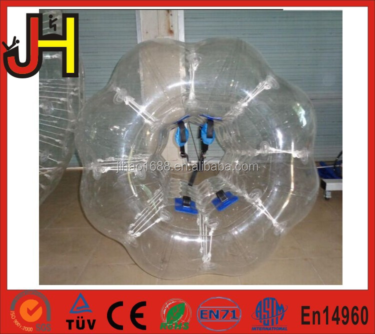 1.0mm PVC Inflatable <strong>Human</strong> Sized Soccer Bumper Bubble Ball, Loopy Ball